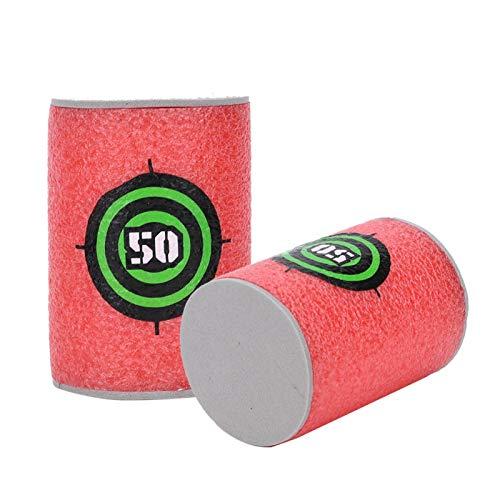 DAUERHAFT Target Dart Toy Respetuoso con el Medio Ambiente Caja Fuerte, Espuma Suave Eva Target Toy Accesorios(Bullet Target)