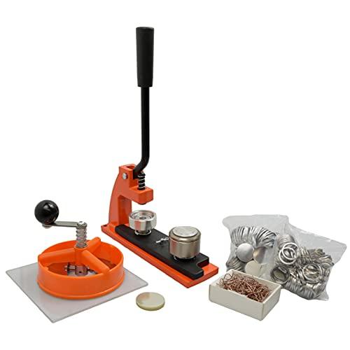 Enterprise Products - Micro - Máquina de chapas - Con 100 piezas y cortador circular - Troquel intercambiable de 25mm