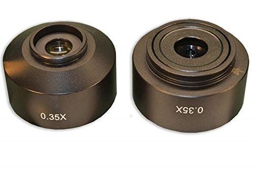 Meiji Techno C-Mount Camera Adapter for MT-51 Trinocular Microscope, 0.35X Lens MA151/MT51/03