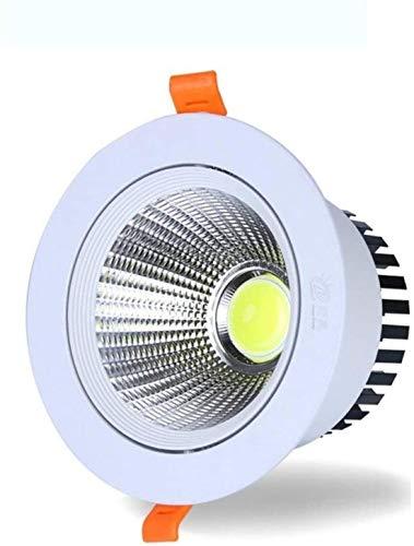 Downlight LED de 7 vatios 12 vatios 18 vatios Redonda ahuecada 110V-240V LED Techo lámpara LED de luz de casa Cocina Interior Luz del Punto de empotrables de luz Redonda Montado escaparat.