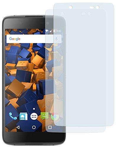 mumbi Schutzfolie kompatibel mit BlackBerry DTEK50 Folie klar, Bildschirmschutzfolie (2X)