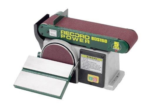 Record Power BDS150Levigatrice a disco e nastro abrasivo 15,2 cmx 10,2cm