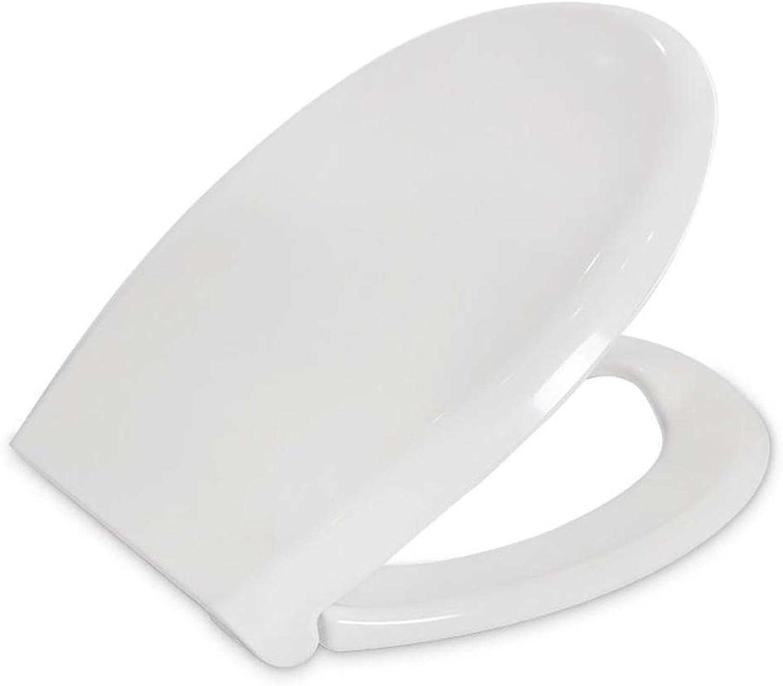 WC Sitz Wei Soft Close Toilettensitz Mit Top Fix Beschlgen Und EINE Taste Schnellspanner (Farbe   Weiß)