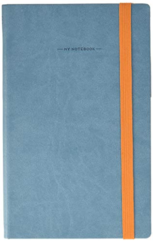 Legami MYNOT0100 My Notebook, Dotted, gris y azul
