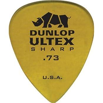 Dunlop 433P.73 Ultex Sharp, .73mm, 6/Player's Pack