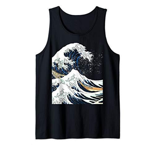 Die große Welle von Kanagawa Hokusai japanische Kunst Tank Top