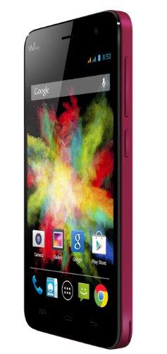 """Wiko Bloom - Smartphone Libre Android (Pantalla 4.7"""", cámara 5 MP, 4 GB, Quad-Core 1.3 GHz, 1 GB RAM), Rosa"""