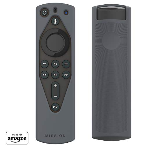 All New, Made for Amazon Remote Cover Case, for Alexa Voice Remote - Gray