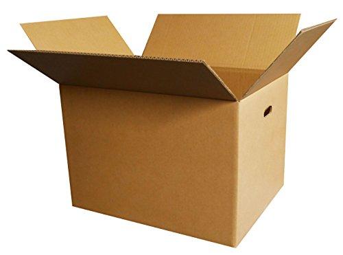 ボックスバンク ダンボール 引っ越し 段ボール箱 120サイズ(取っ手穴付)5枚セット FD05b-0001 強化材質