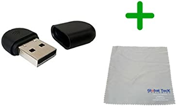 Yealink WF40 USB Wi-Fi Dongle for SIP IP Phones | Compatible Models - T27G, T29G, T46G, T48G, T41S, T42S, T46S, T48S, T52S, T54S | Microfiber Cloth