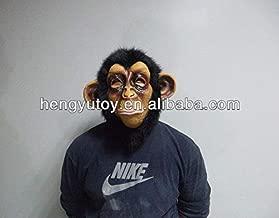 PKRISD 2018 New Halloween Party Cosplay Animal Mask Latex Monkey Mask Ugly Mask Disguises of Monkey Face Head Mask