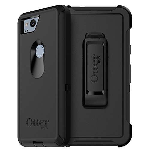 OtterBox Defender Series Case Cover with Holster for Google Pixel 2 – Black