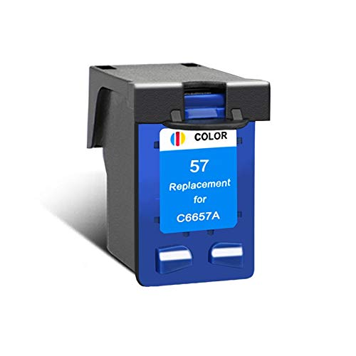 CMDZSW Compatible para Cartuchos HP56 o HP57 para HP PSC 4200 1110 1205 1210 1215 1219 1315 1340 1350 2210 2410 (Color : 1C)