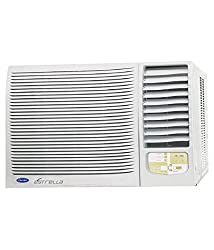 Carrier ESTRELLA Window AC (1.5 Ton, 5 Star Rating, White, Copper)