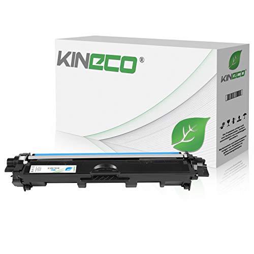 Kineco Toner kompatibel für Brother TN-246 TN246 für Brother DCP9017CDWG1, MFC-9142CDN, HL3142CW, DCP-9017CDWG1, DCP-9022CDW, HL-3152CDW, MFC-9342CDW, HL-3172CDW, MFC-9332CDW - Cyan 2.200
