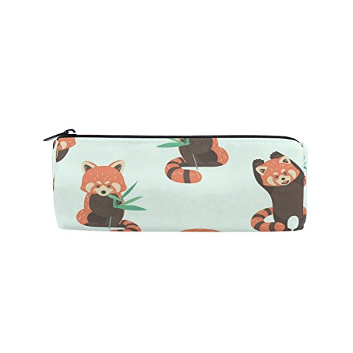 Cooper girl Cute Red Panda Pencil Bag Pen Case Students Stationery Pouch Zipper Bag for Girls Boys Kids