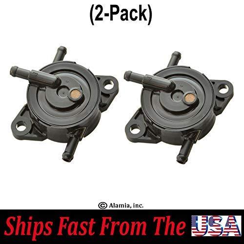 (2-Pack) Original Kawasaki Fuel Pump, 49040-0770, 49040-7008. Fits, Kawasaki Series Engines Model FR, FS, FX