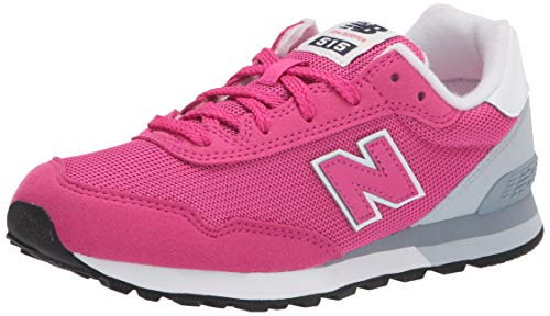 New Balance girls 515 V1 Lace Up Sneaker, Carnival/Light Cyclone, 2 Little Kid US