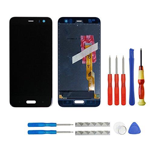 swark Display LCD compatibile con HTC U11 Life 5.2 pollici (non adatto per HTC U11) (nero senza cornice), display LCD touch screen Digitizer Assembly vetro + strumenti