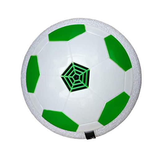 IDREAM TRADER Hoover Ball Air Power - Pallone da Calcio per Bambini, con sospensioni pneumatiche, paracolpi in Schiuma e luci a LED, per Allenamento, per Bambini e Bambine