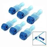 LHKJ 50 Pares T-Tap Cable Conector Kit Conectores de Empalme Eléctrico Tipo Rapido, Azul