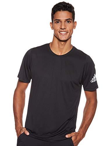adidas Herren FreeLift Ultimate Solid Trainingsshirt, Black, M