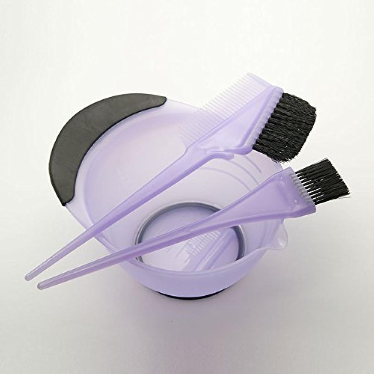 丈夫やるサイクロプスDEEDS E-0003 プロ用 ヘアカラーセット ラベンダー ヘアカラー カップ ブラシ セット