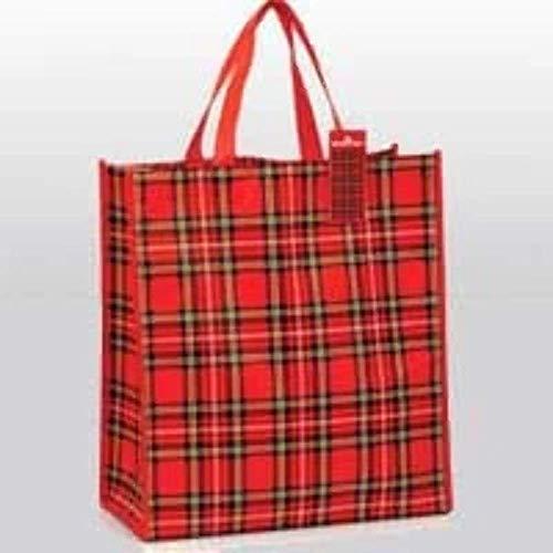 Royal Stewart Scottish Tartan Rot kariert wiederverwendbare Shopping Tasche