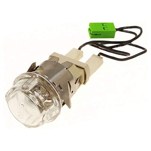 Lámpara de horno completa para horno, cocina 481010836695, C00385333 Ariston HooINT HOTPOINT