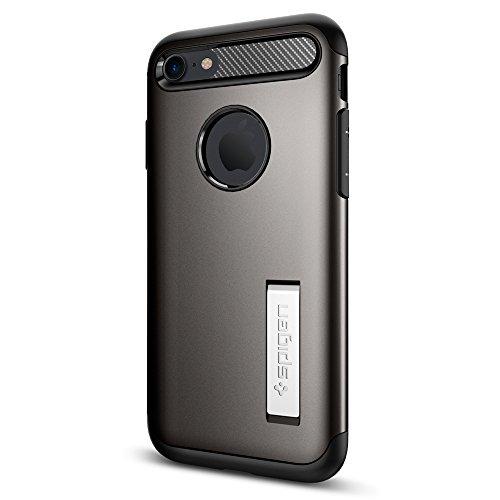 Spigen Cover iPhone 8, Cover iPhone 7 Slim Armor Progettato per iPhone 7 / 8 Cover Custodia - Gunmetal