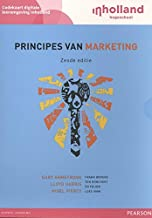 Custom Codekaart Principes van Marketing 6e editie,                     digitale leeromgeving InHolland: codekaart digital...