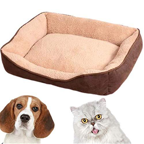 TTBD Colchonetas para Perros Sofá para Perros Lavable Cesta Cama Rayas Animales Impermeable Chihuahua Puppy Cama Cama Perros Medianos Lavable Bull Terrier,D,XL