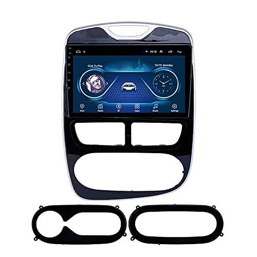 RAXST Android 9 estéreo para Coche para Hyundai Renault Clio Digital/Analog (AT) 2016-2018, navegación GPS, Reproductor de DVD, WiFi, Bluetooth, Receptor Am/FM,1+16G WiFi