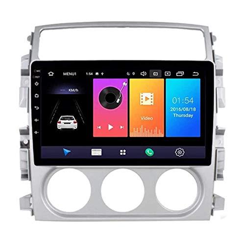 JALAL Android 8.1 Navegador de Reproductor MP5 estéreo con Radio de Coche de 9 Pulgadas para Suzuki Liana 2006-2013, FM/Bluetooth/GPS/Controles del Volante/Mirror Link/Cámara de visión Trasera