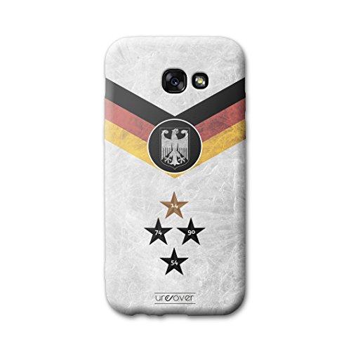 Urcover® Voetbalbeschermhoes compatibel met Samsung Galaxy A3 (2017) [Team] Voetbalhoes