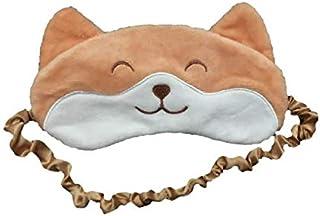 TENGOKU Shiba Inu Kawaii Sleeping Mask Comfy Blocks Lights for Better Sleep (Shiba 2)