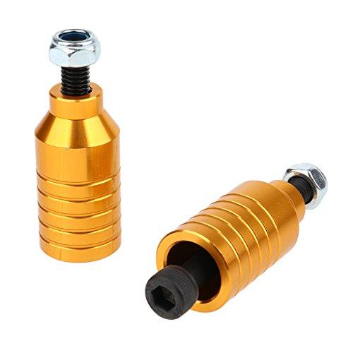 F Fityle 2 x Ersatzteile Tretroller Roller - Gold