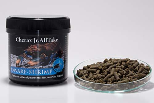 Salty Bee Cherax Jr.AllTake - 150g Krebsfutter für Juvenile Flusskrebse im Aquarium