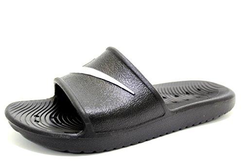 Nike Kawa Shower, Chanclas Hombre, Negro (Black/White), 41 EU