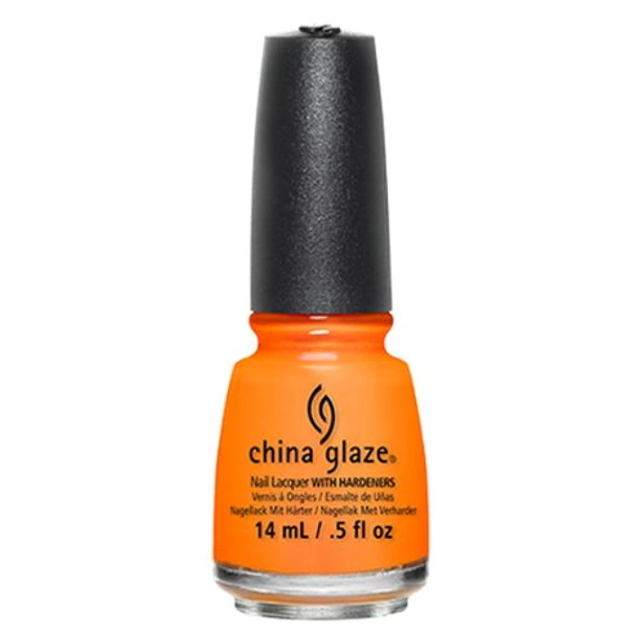 無足音酔った(6 Pack) CHINA GLAZE Off Shore Collection - Stoked To Be Soaked (並行輸入品)