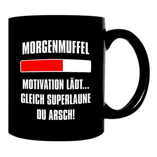 Kaffeetasse Tasse Sprüche Morgenmuffel