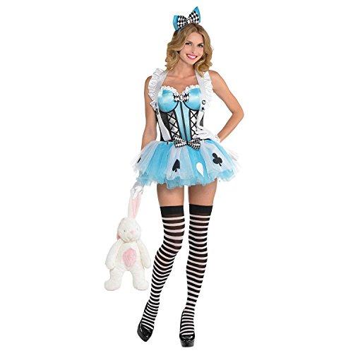 Yummy Bee - Alice In Wonderland Cors - Disfraz de cuento de hadas para mujer - (talla S/M 6 8 10)