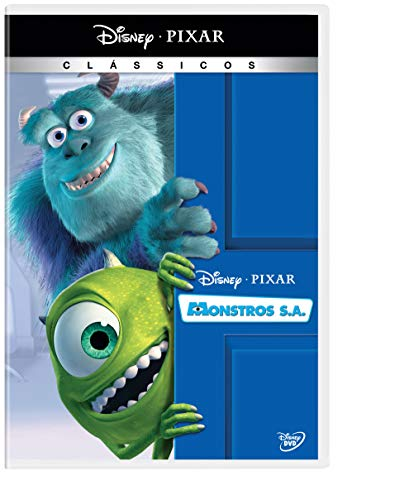Monstros S.A. Dvd Simples