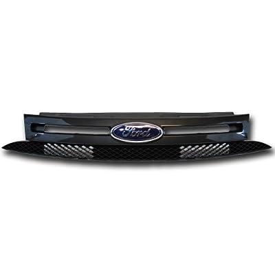 OEM New Ford Focus Black/Dark Chrome Grille SES