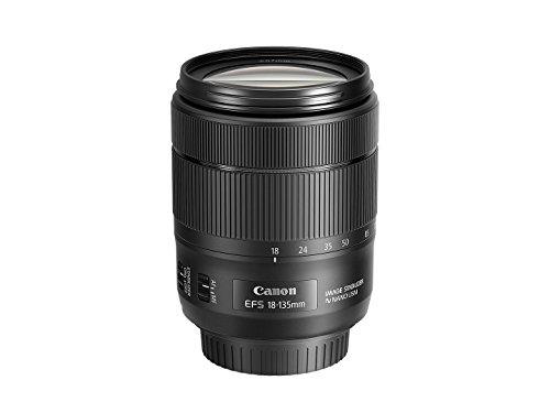 Canon EF-S 18-135mm f/3.5-5.6 Image Stabilization USM Lens (Black) (Renewed)