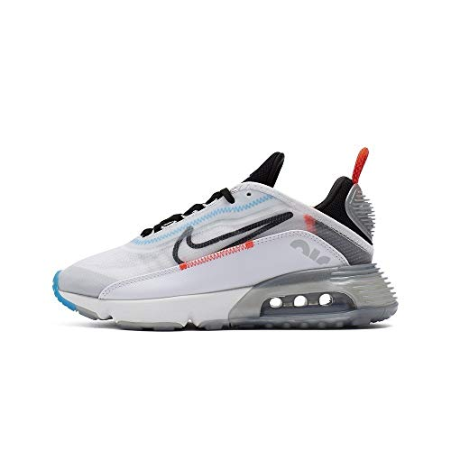 Nike Womens Air Max 2090 - White/Black Pure Platinum - 7 US