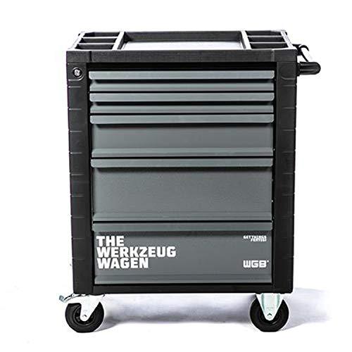 Werkstattwagen leer | 5 Schubladen | No.143 | grau | stabile Stahlblechkonstruktion | WGB