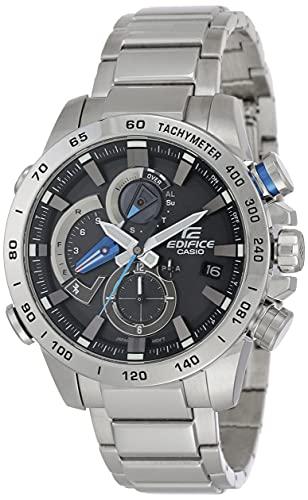 Casio Edifice Analog Black Dial Men's Watch-EQB-800D-1ADR (EX402)