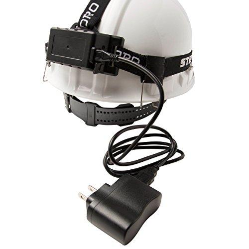 STEELMAN PRO 78834 Slim Profile Rechargeable LED 250-Lumen Motion Activated Headlamp