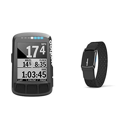 Wahoo ELEMNT Bolt GPS-Fahrradcomputer & TICKR FIT Herzfrequenz Armband, Bluetooth/ANT+